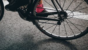 Photo of bicycle tyre